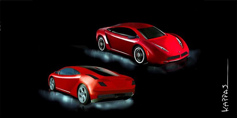 P1 πρόταση για τον διαγωνισμό σχεδιασμού της Peugeot