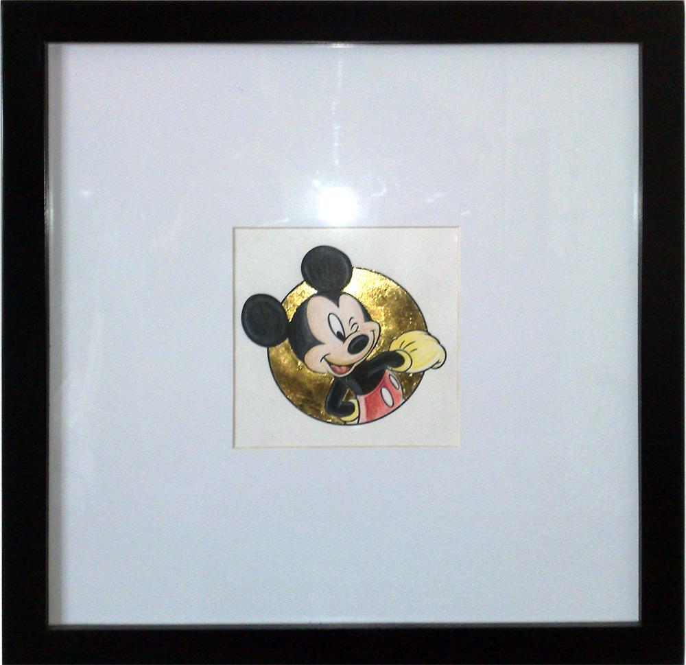 Mickey Mouse – Μίκυ Μάους : Ζωγραφική με ξυλομπόγιες